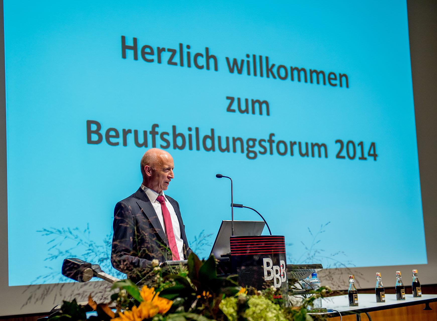 Berufsbildungsforum 2014