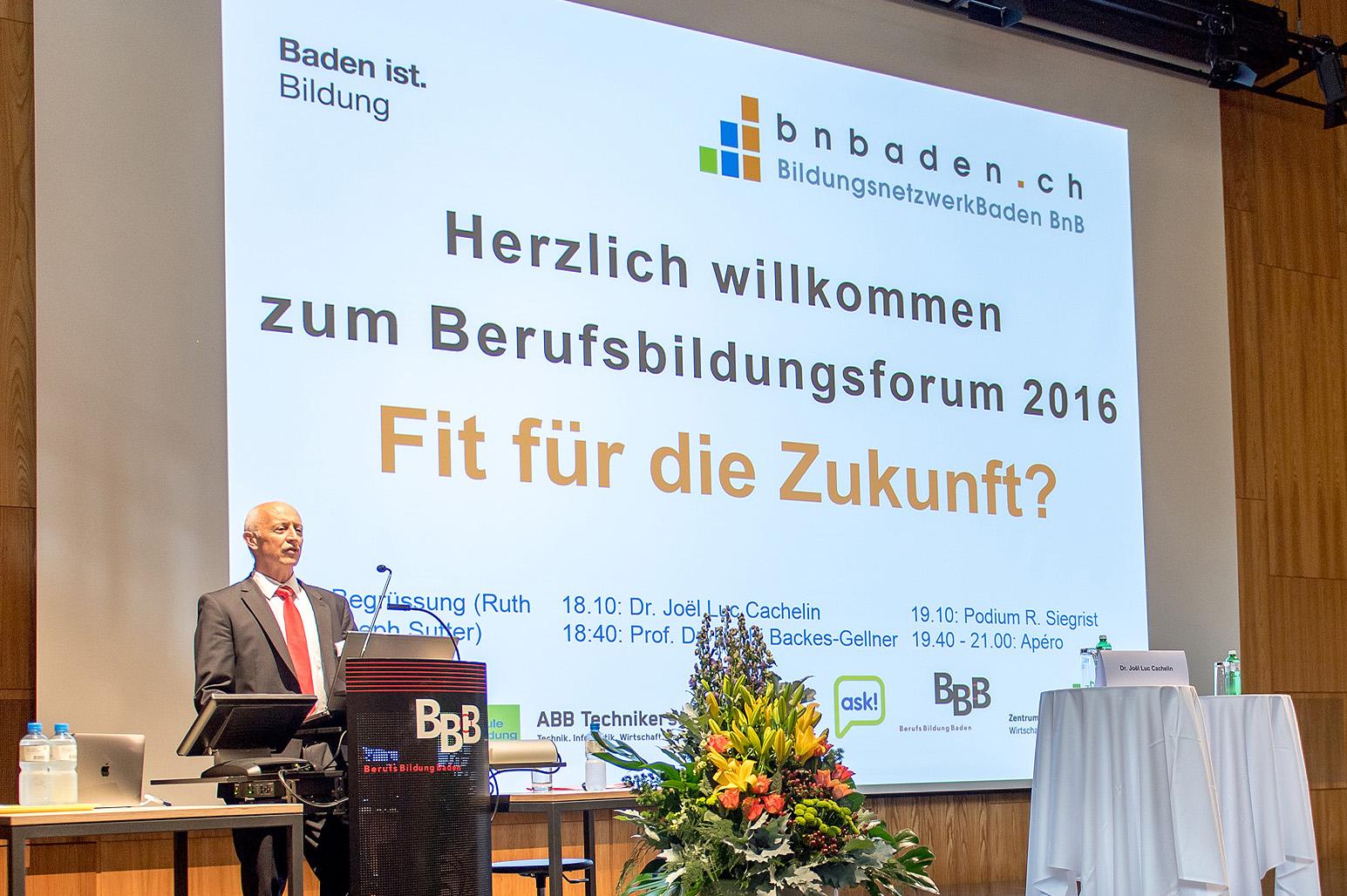 Berufsbildungsforum 2016